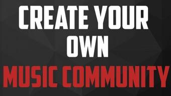 Create Your Own Music Community Website & Blog course image