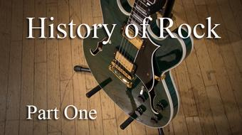 History of Rock, Part One course image