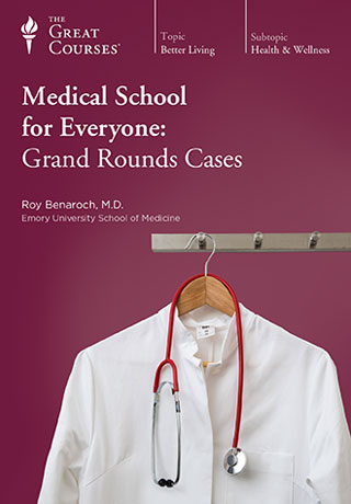 Medical School for Everyone: Grand Rounds Cases - DVD, digital video course course image