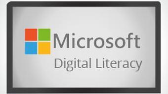 Microsoft Digital Literacy - Productivity Programs course image