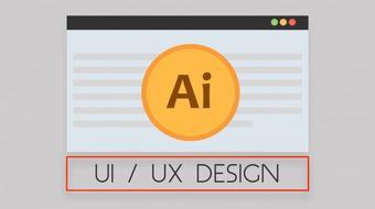 Adobe  Illustrator for UI / UX Design course image
