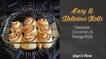 Easy & Delicious Rolls course image
