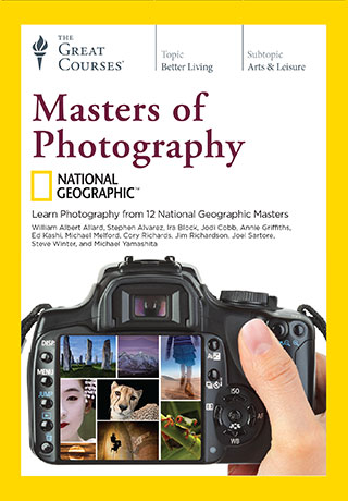 National Geographic Masters of Photography - DVD, digital video course course image