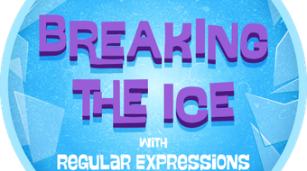 Breaking the Ice With Regular Expressions course image