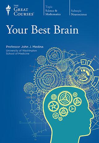 Your Best Brain - DVD, digital video course course image
