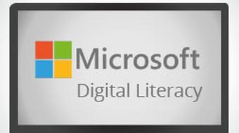 Microsoft Digital Literacy - Computer Basics course image