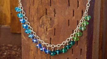 Make Your Own Jewelry: How To Make A Dangling Bead Necklace course image