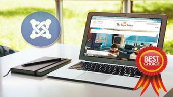 Joomla 3 : Develop a Professional Website in 3 Simple Steps course image