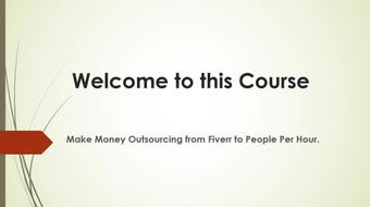Learn How to Outsource From Fiverr to People Per Hour course image