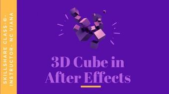 3D Cube in After Effects course image