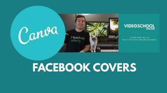 Canva for Entrepreneurs: Design Your Own Facebook Cover Art course image