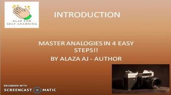 Skillshare Communication Skills: Master Analogies In 4 Easy Steps!! course image