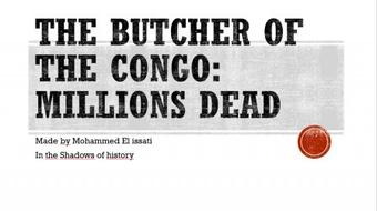 The Butcher of the Congo: Millions Dead course image