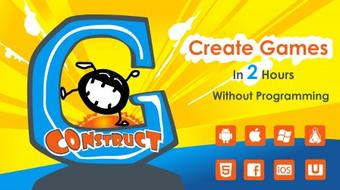 Create Your Own Games With Construct 2 - Game Development Course For Beginners - Part 1 course image