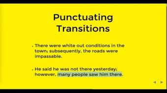 Grammar and Punctuation: How to make compound sentences course image