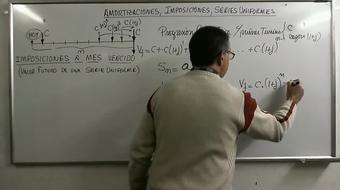 Domina las Matemáticas Financieras (Modulos 3 y 4) Series uniformes, Amortizaciones course image