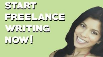 Start Freelance Writing NOW! How to Write a Pitch that Gets Picked Up and Jumpstart Your Career course image