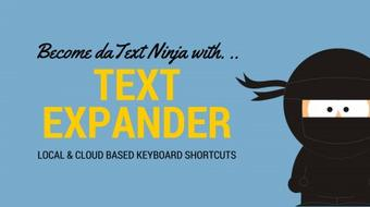 Using Text Expander to Become a Keyboard Ninja! course image