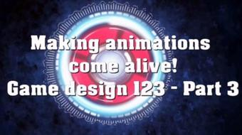 Make animations come alive! Game Design 123-Beginner's course course image