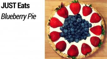 JUST Eats: Delicious & Easy Blueberry Pie course image