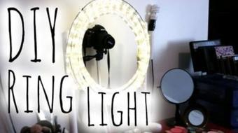 Build Your Own DIY Diva Ring Lamp for Less than $20 in Just 20 Minutes course image