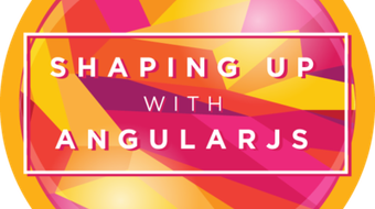 Shaping Up With AngularJS course image