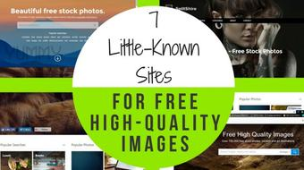 7 Little-Known Sites to Get Royalty-Free Stock Images for Your Skillshare Classes & More - FOR FREE! course image