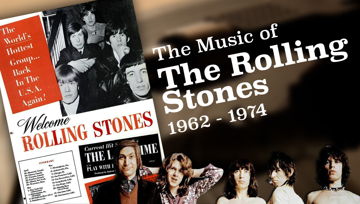 The Music of the Rolling Stones, 1962-1974 course image