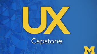 UX (User Experience) Capstone course image