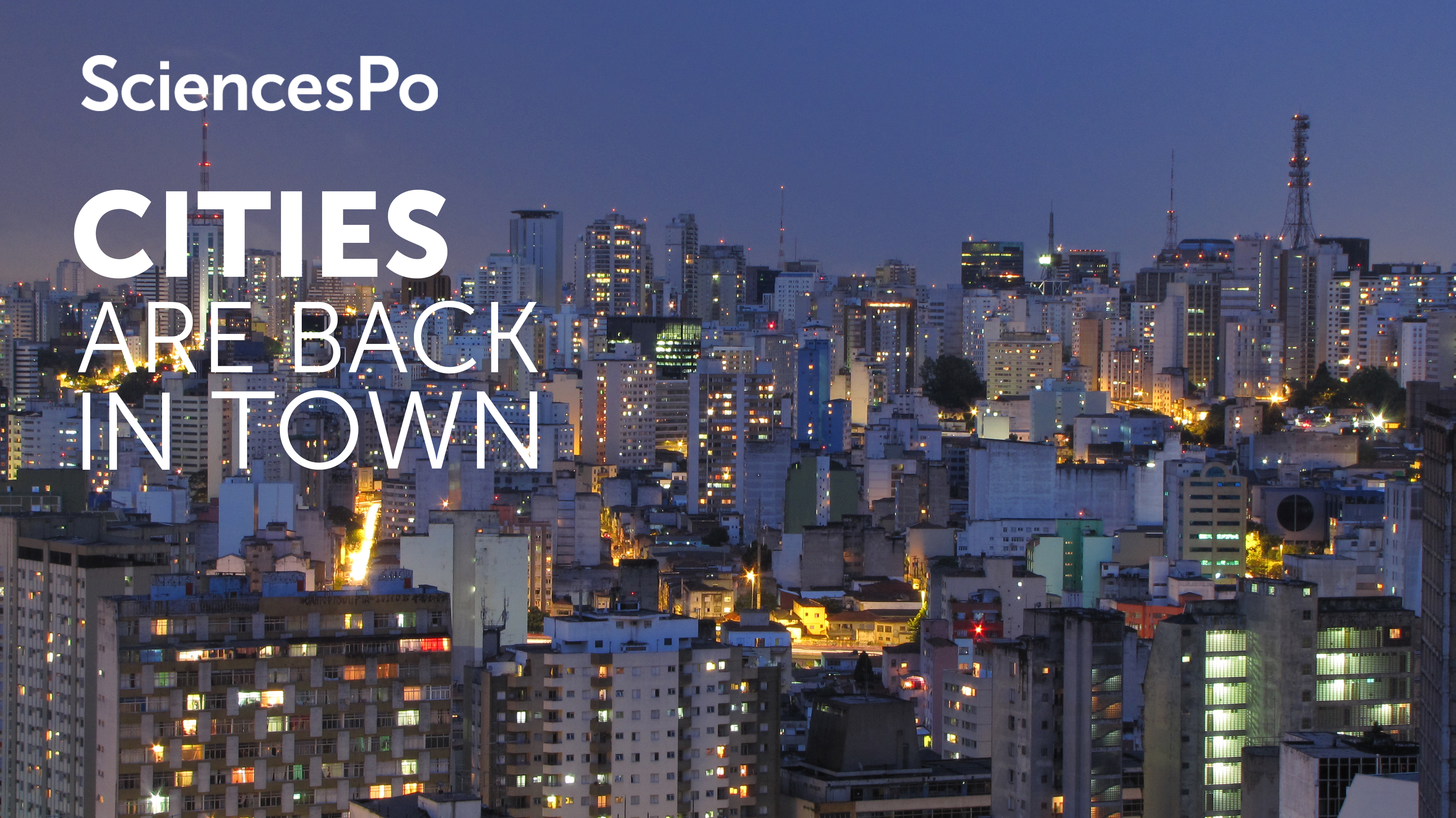 Cities are back in town : sociología urbana para un mundo globalizado course image