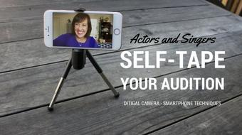 Self-Tape your Audition with the camera in your pocket course image