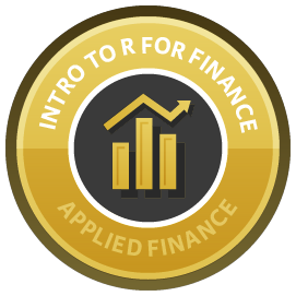 Introduction to R for Finance course image