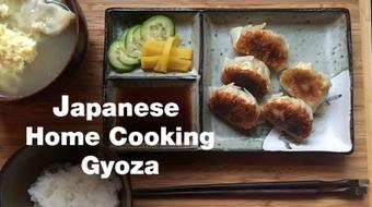 Japanese Home Cooking: Gyoza (potstickers) course image