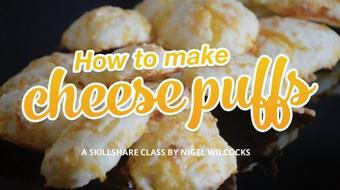 How to make cheese puffs course image