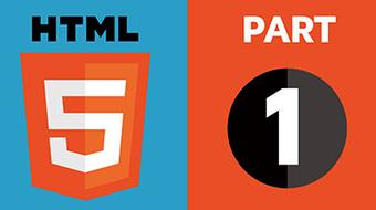 HTML5 Part 1: HTML5 Coding Essentials and Best Practices course image