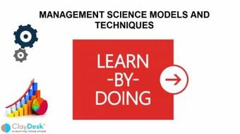 The Art of Management Science Models and Techniques course image