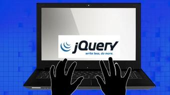 Building Websites web Development Introduction to jQuery course image