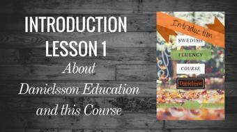 Introduction: Swedish Pronunciation course image