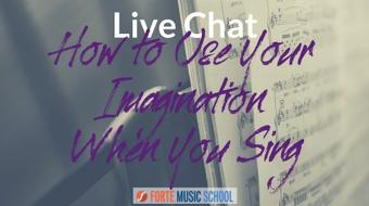 How to Use your Imagination When You Sing - 6 Strategies to Bring Colour and Life to Your Voice course image