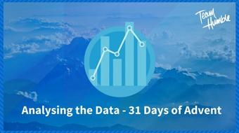 Analysing the Data of 31 Days of Advent - skillshare 2017 course image