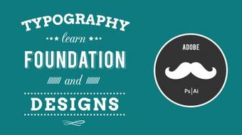 Typography Design in Photoshop course image
