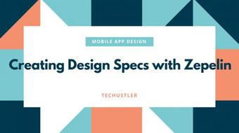 Mobile App Design - Creating Design Specs with Zepelin course image