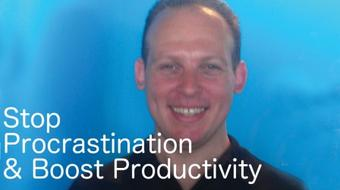 Stop procrastination, improve motivation & productivity: habit-building, psychology & exercises course image