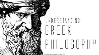 活用希臘哲學 (Understanding the Greek Philosophy) course image