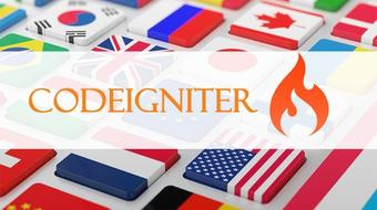 Build multi language website in codeigniter course image