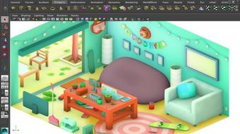 Maya Basics: Modeling an Isometric Environment course image