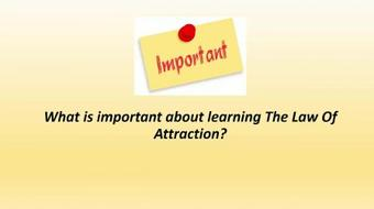 The Complete Law Of Attraction made simple! course image