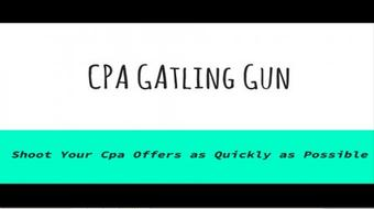 CPA Offers Gatling Gun course image