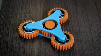 Design Fidget Spinners - Fusion 360 for 3D Printing course image