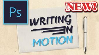 Animation in Photoshop: Writing in Motion course image